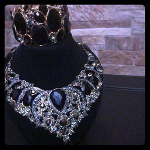 Beautiful Rhinestone jewelry set